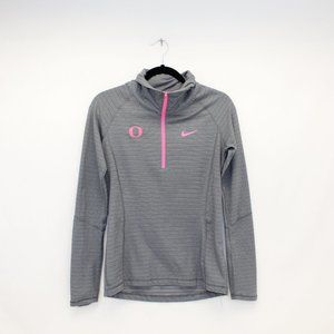 Nike Gold Gray & Pink U of O Active Pullover